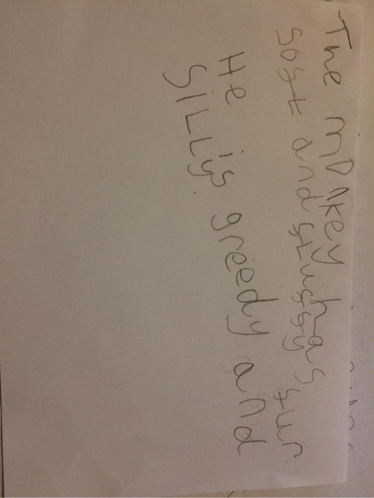 Kenzie's fantastic writing!