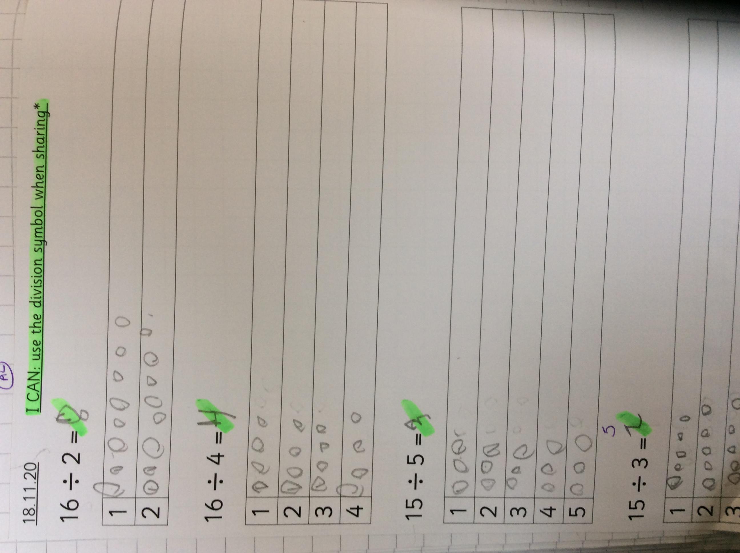Jacob's wonderful maths!