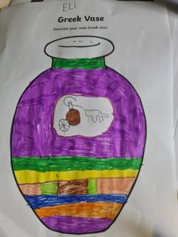 Eli's wonderful Greek vase design!