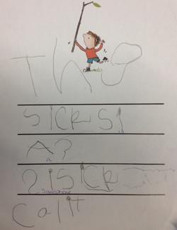 Calix's wonderful writing!