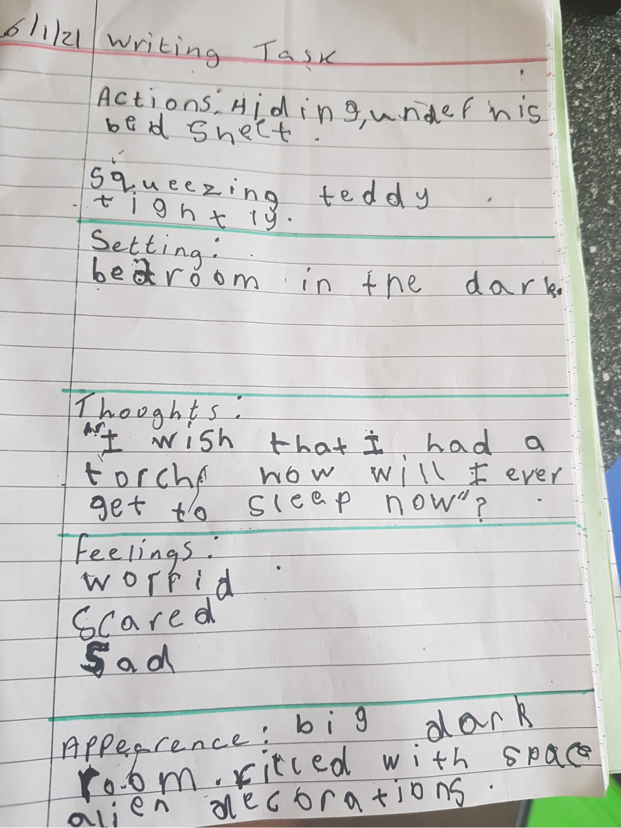 Anthony's wonderful writing!