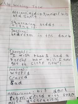 Anthony's wonderful writing!