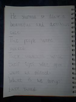 William's brilliant writing!