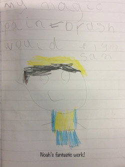 Noah's wonderful writing!