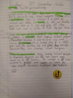 Krishika's wonderful writing!
