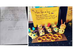 Byron's wonderful homework!