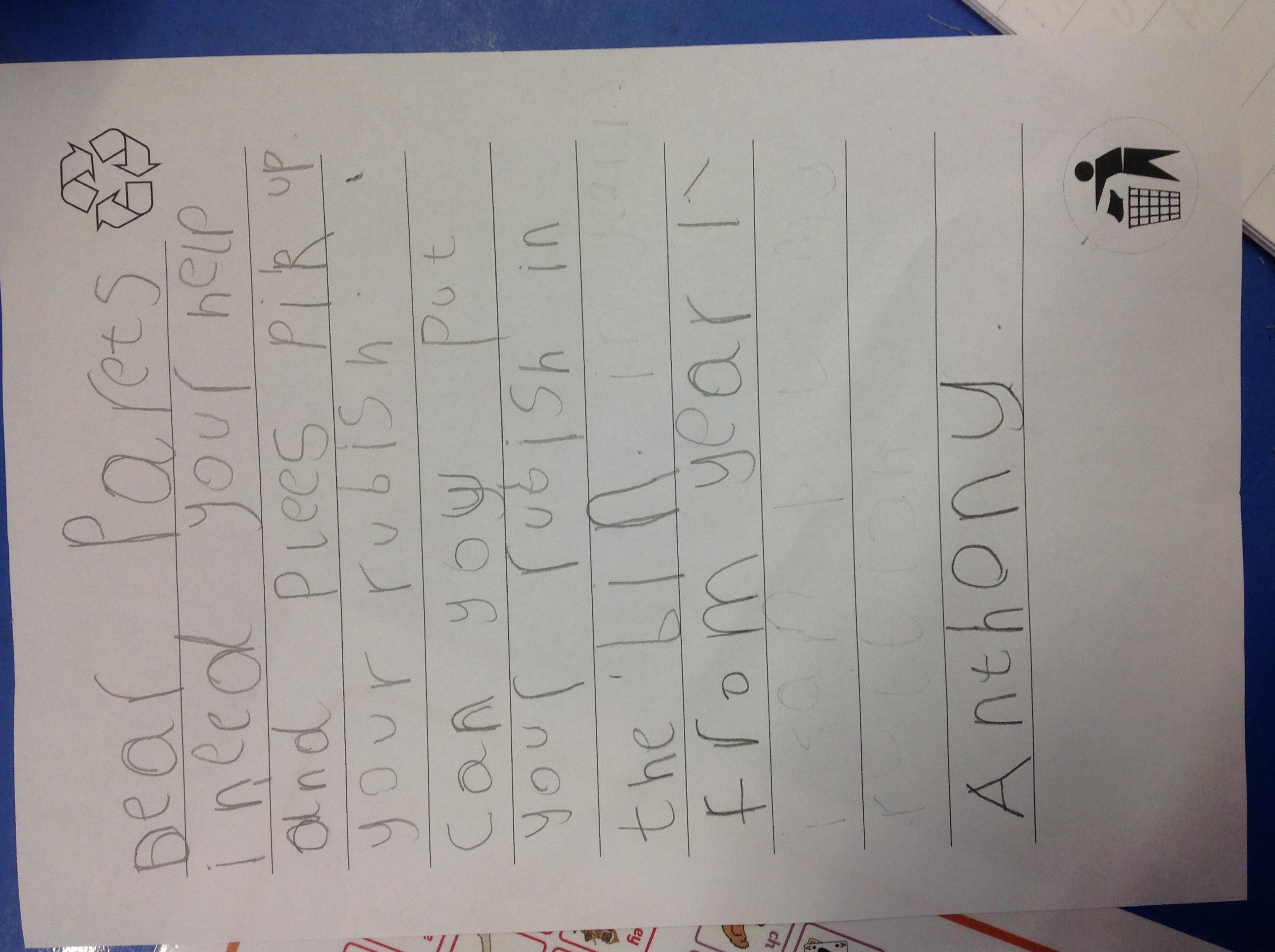 Anthony's brilliant writing!