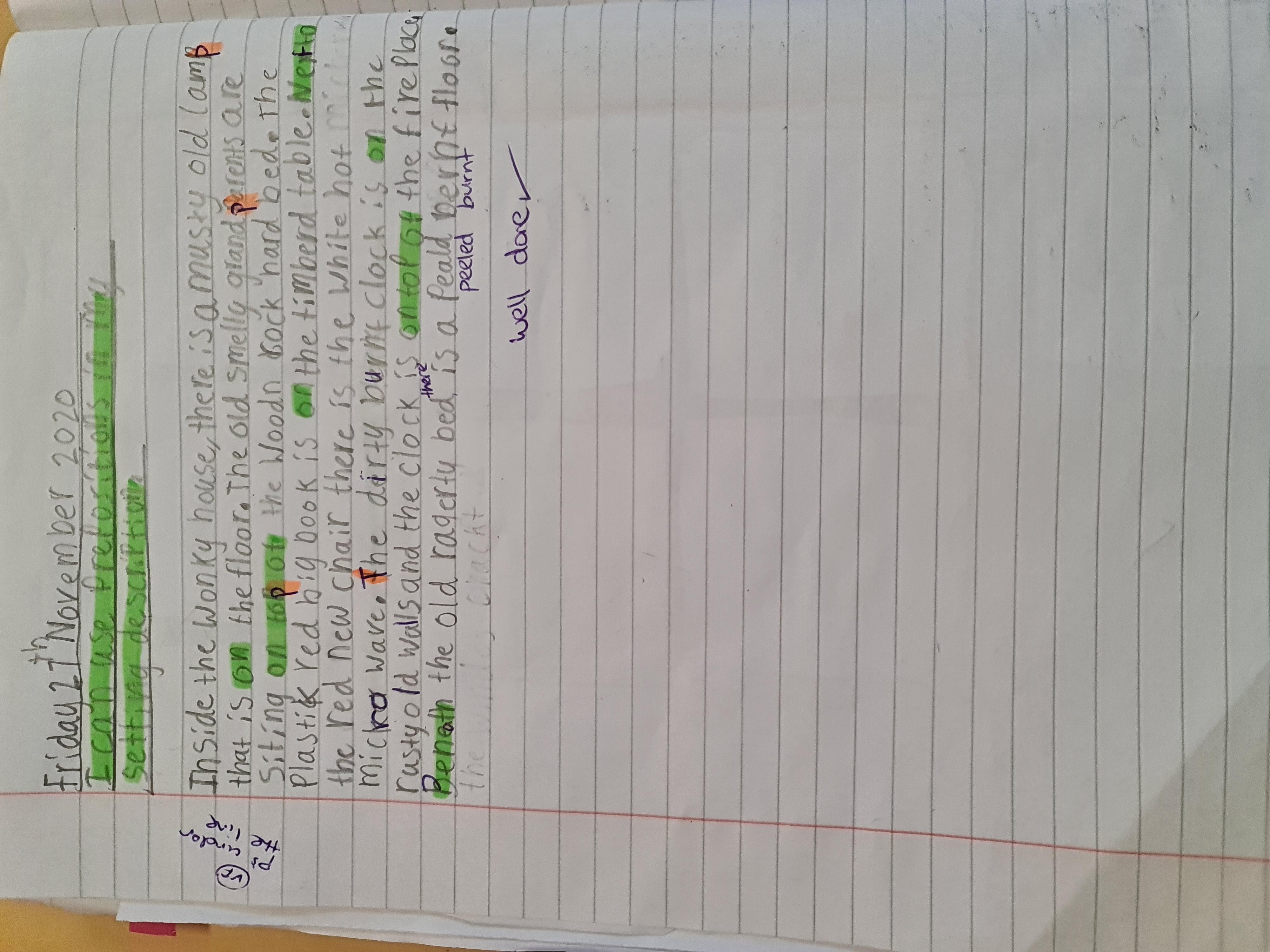 Lewis's amazing writing!