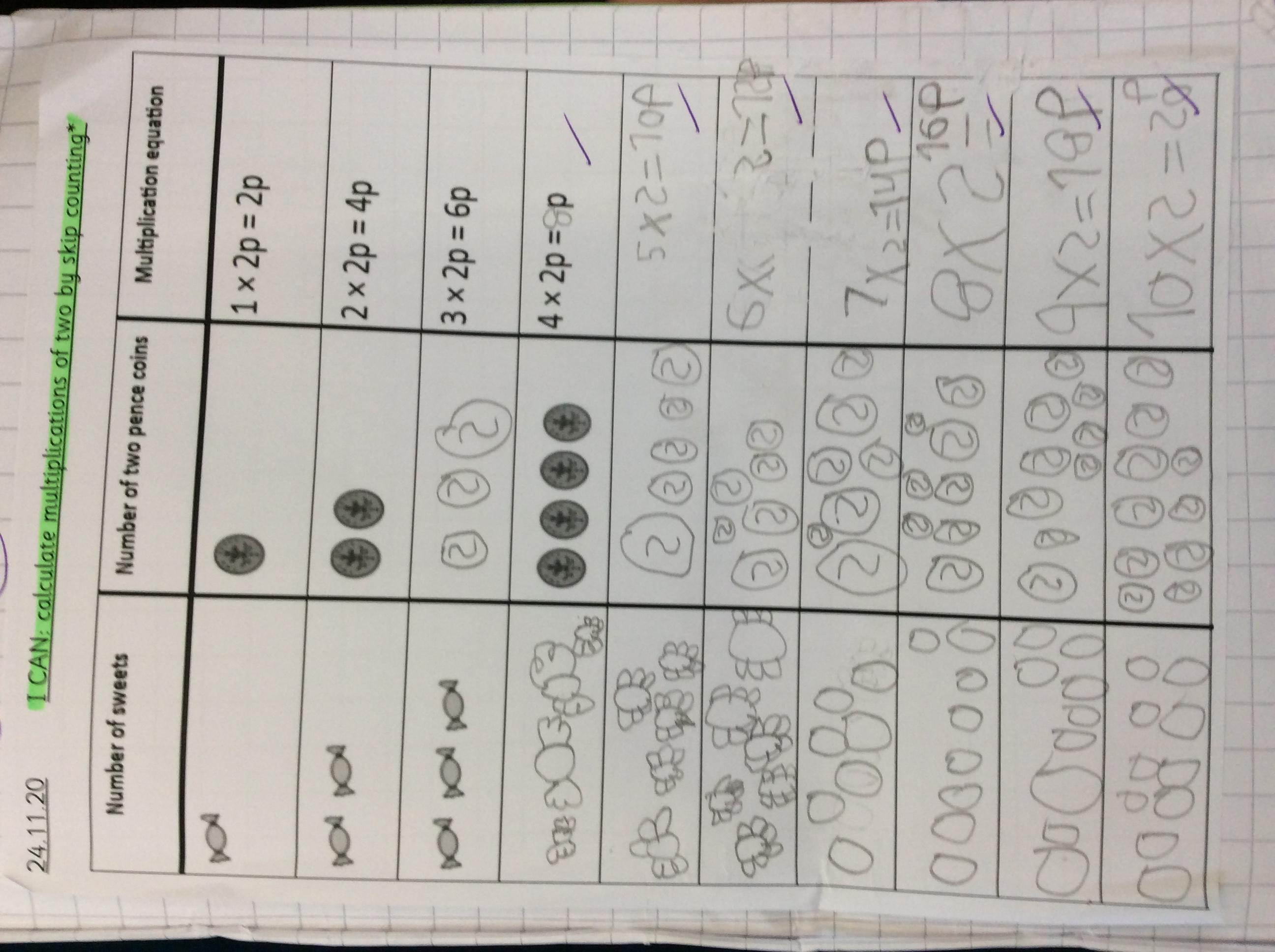 Byron's brilliant maths!