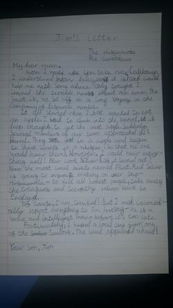 Fedir's incredible letter!