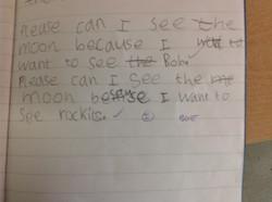 Arbenita's incredible writing!