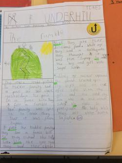Jaiden's brilliant newspaper report!