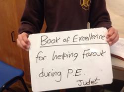 Jay's brilliant behaviour!
