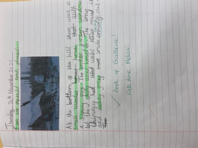 Melisa's wonderful writing!