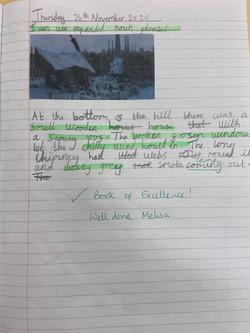 Melisa's wonderful writing!