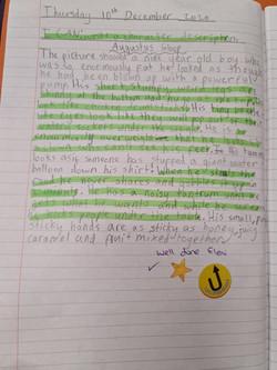 Eleni's brilliant writing!