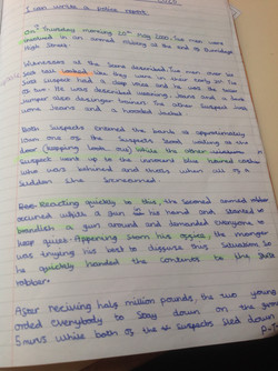 Iram's incredible writing!