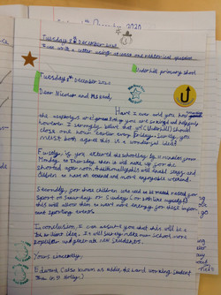 Eddie's excellent letter!