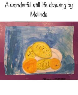 Melinda's beautiful still life!