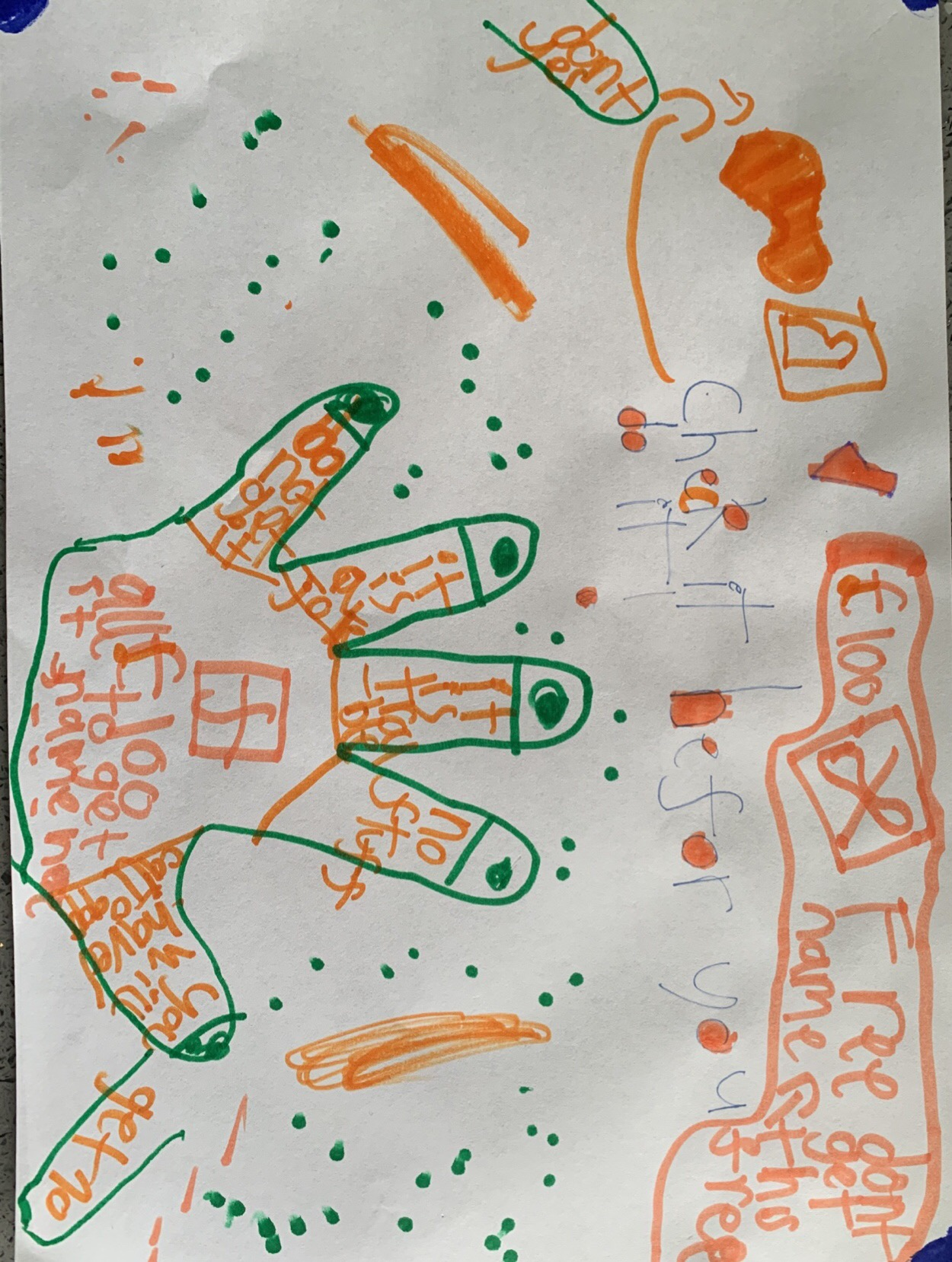 Tilly's brilliant poster!