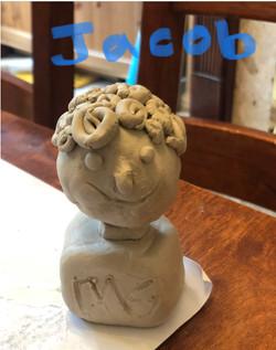 Jacob's brilliant statue!
