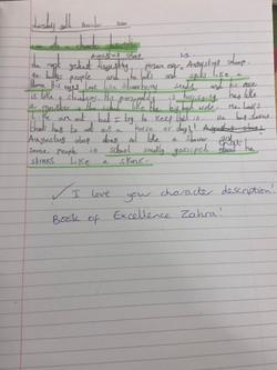 Fabulous writing Zahra!