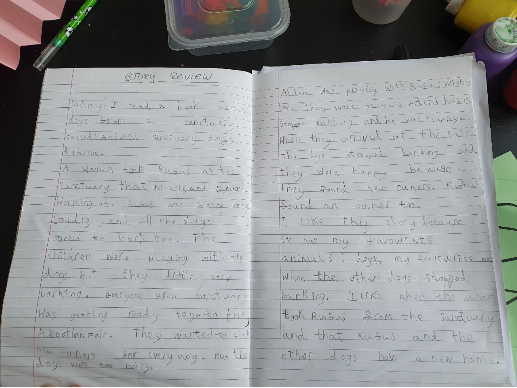 Ianis's wonderful book review!