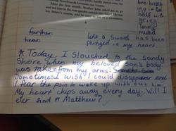 Emily's amazing writing!