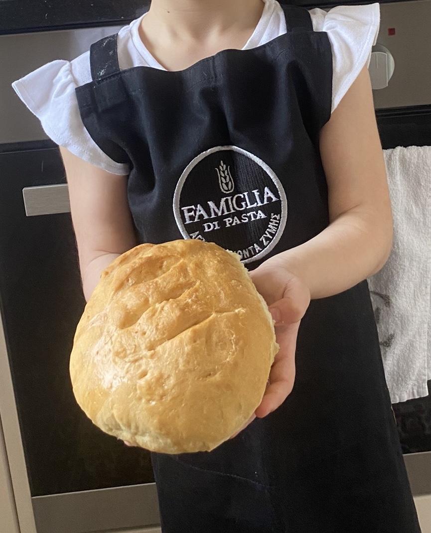 Natalia's delicious homemade bread!