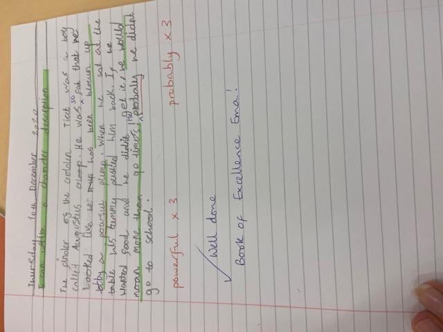 Ema's brilliant writing!