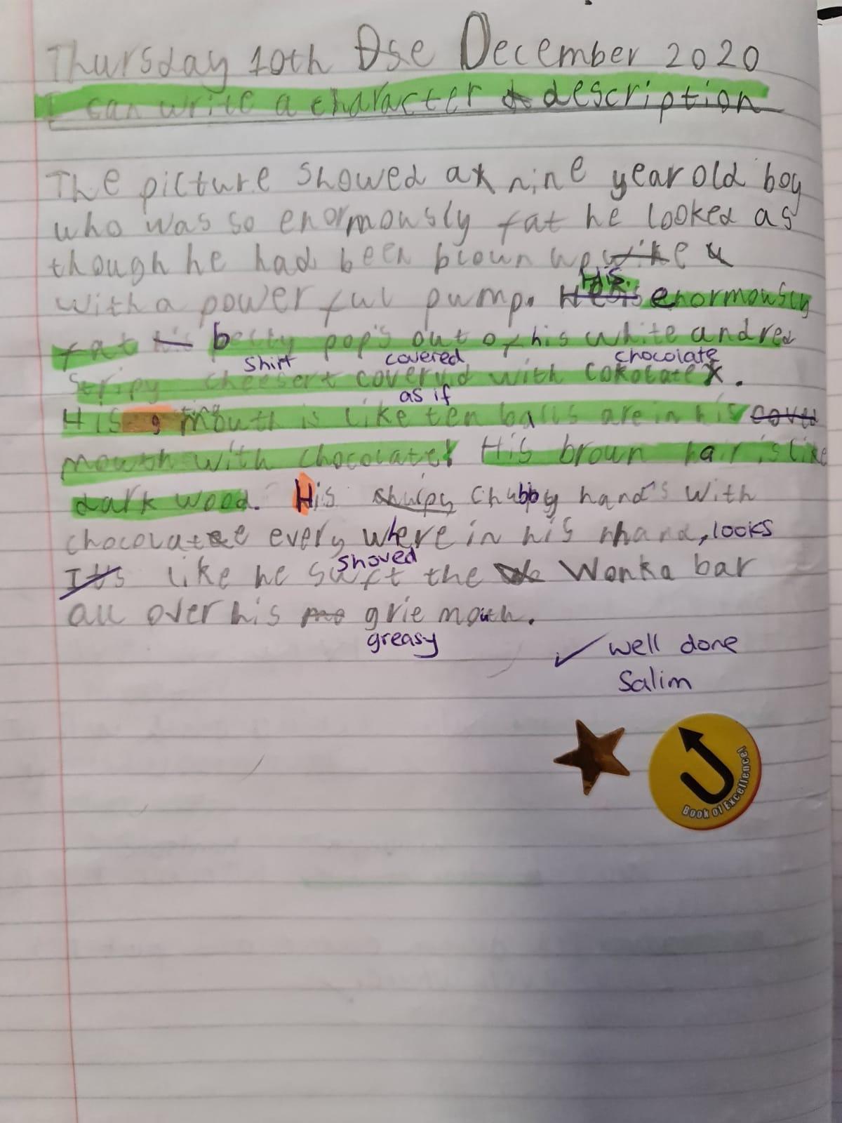 Salim's brilliant writing!