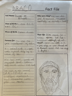 Amy's fantastic fact file!