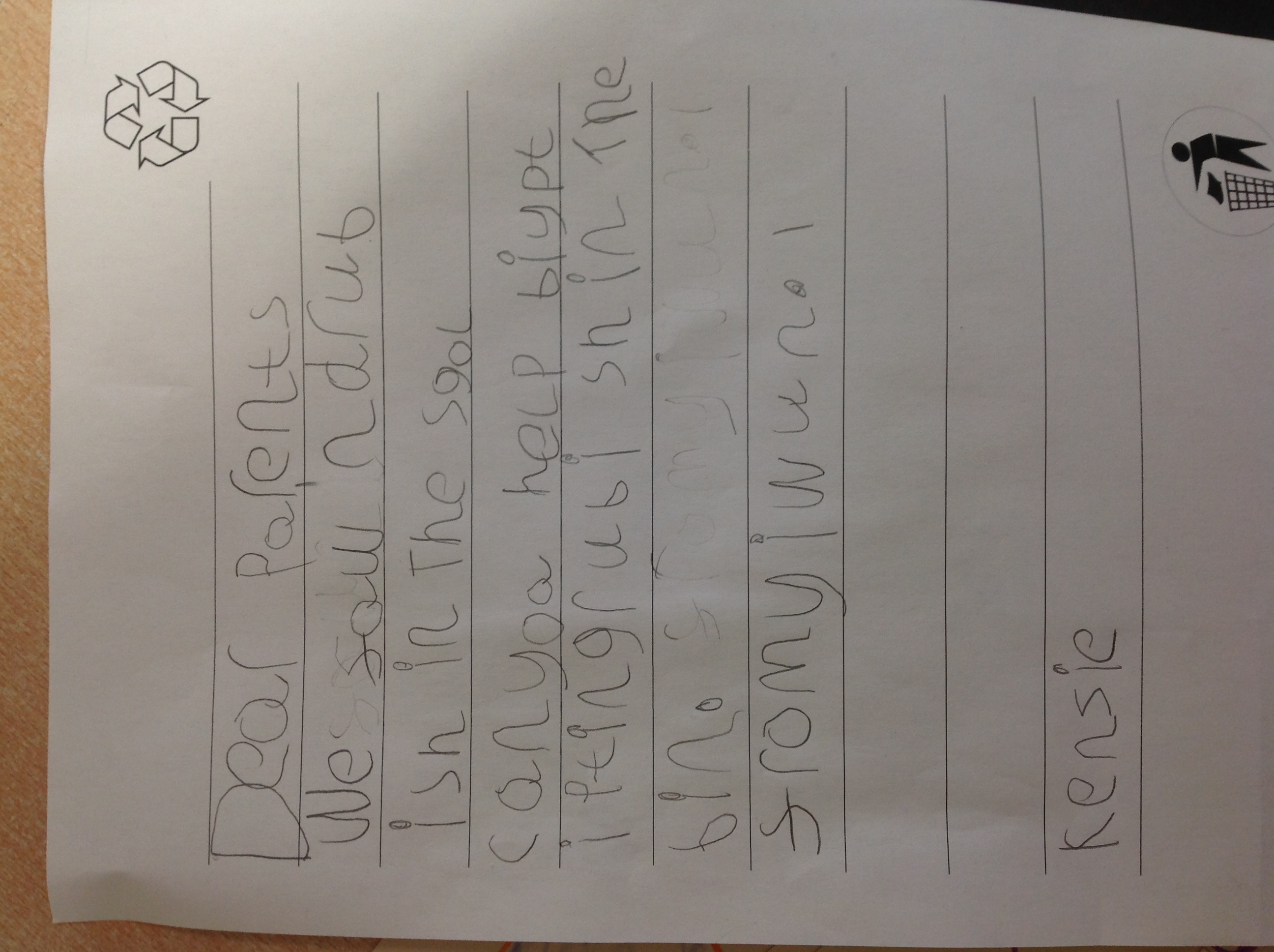 Kenzie's excellent writing!