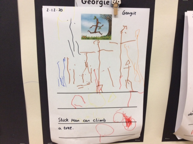 Georgie's wonderful writing!