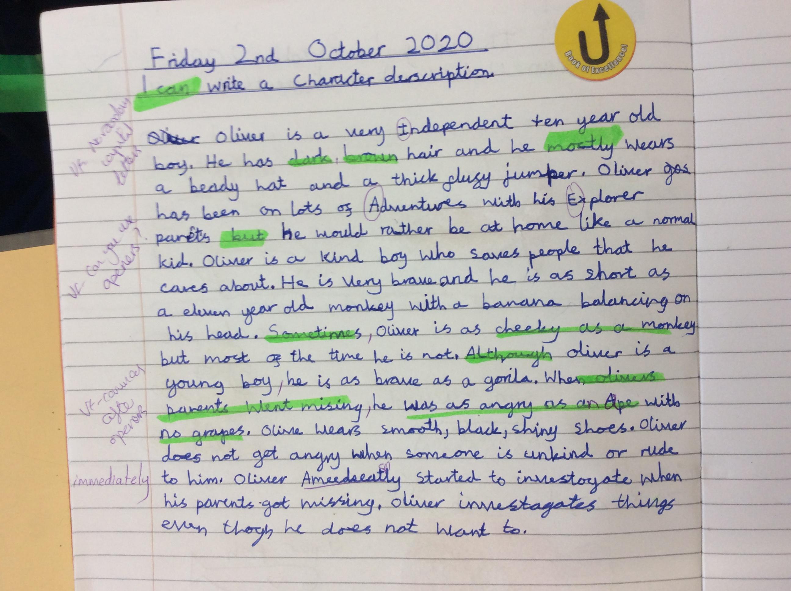 Ludwick - great writing!