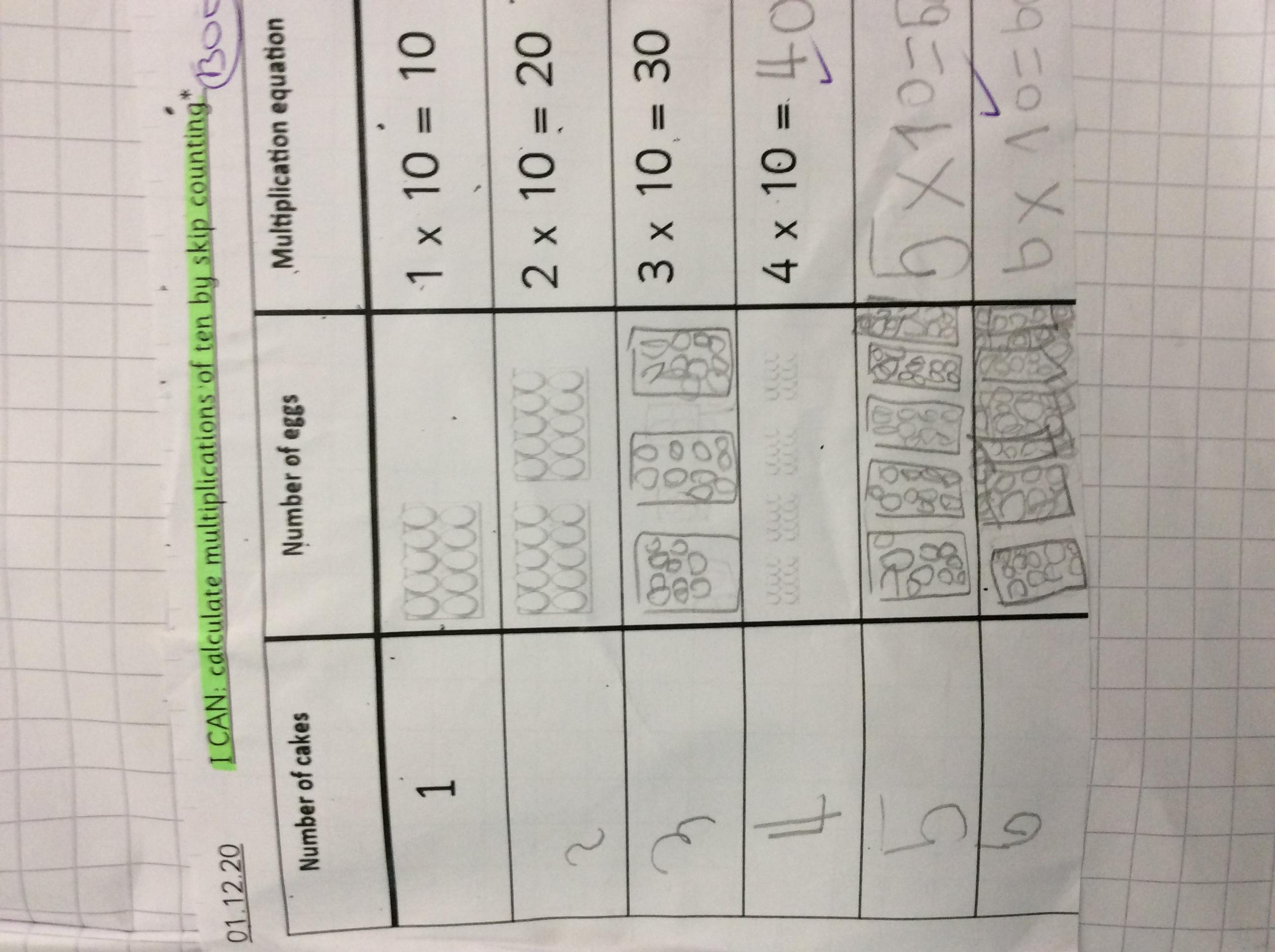 Oscar's amazing maths!