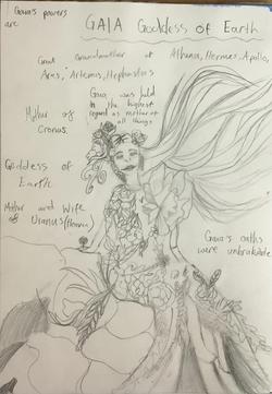 Alisha's amazing character study!