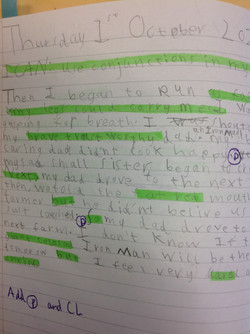 Cameron's wonderful writing!