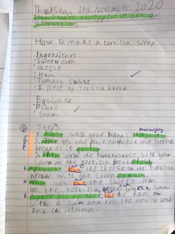 Salim's fantastic instructions!