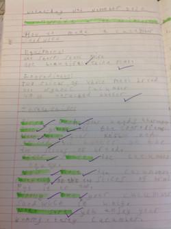 Mundhir's brilliant instructions!