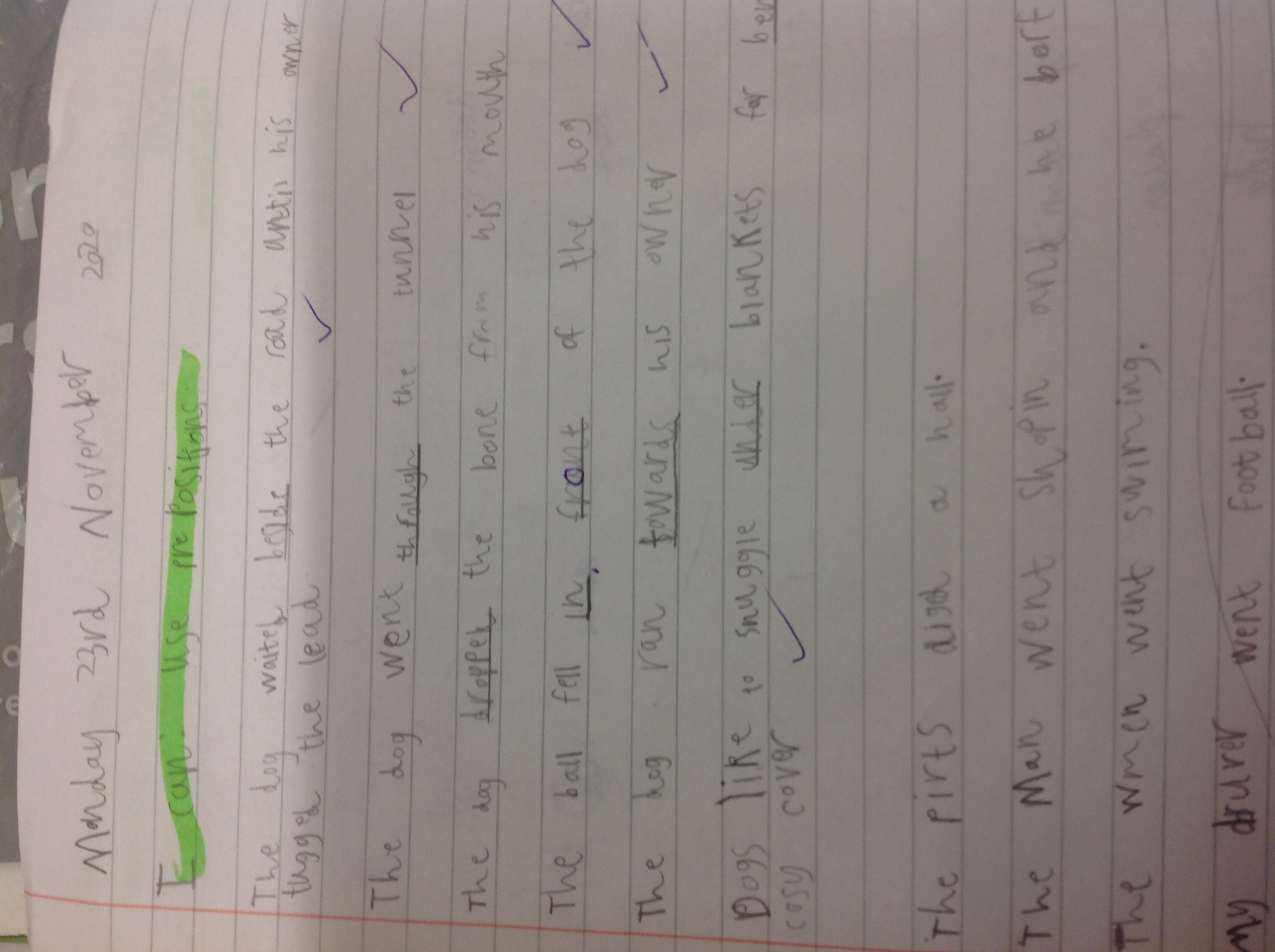 Azad's fantastic writing!