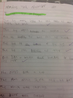Azad's fantastic writing!
