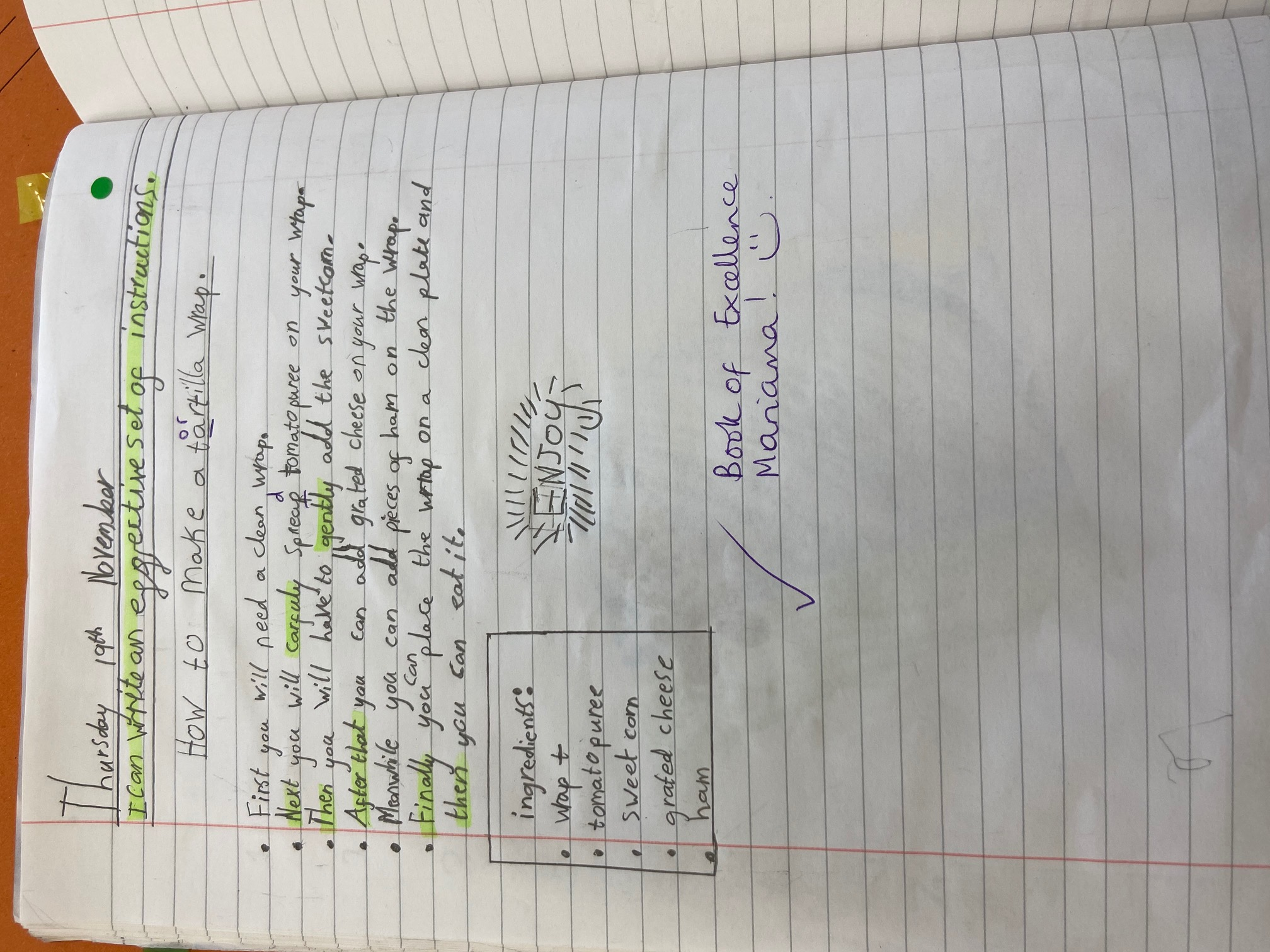 Mariama's amazing writing!