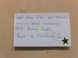 Eleni's amazing reasoning skills!