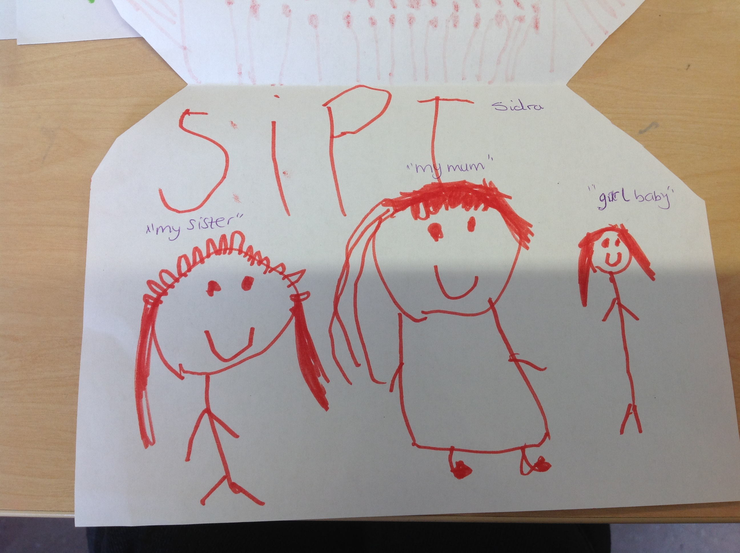 Sidra's wonderful drawing!