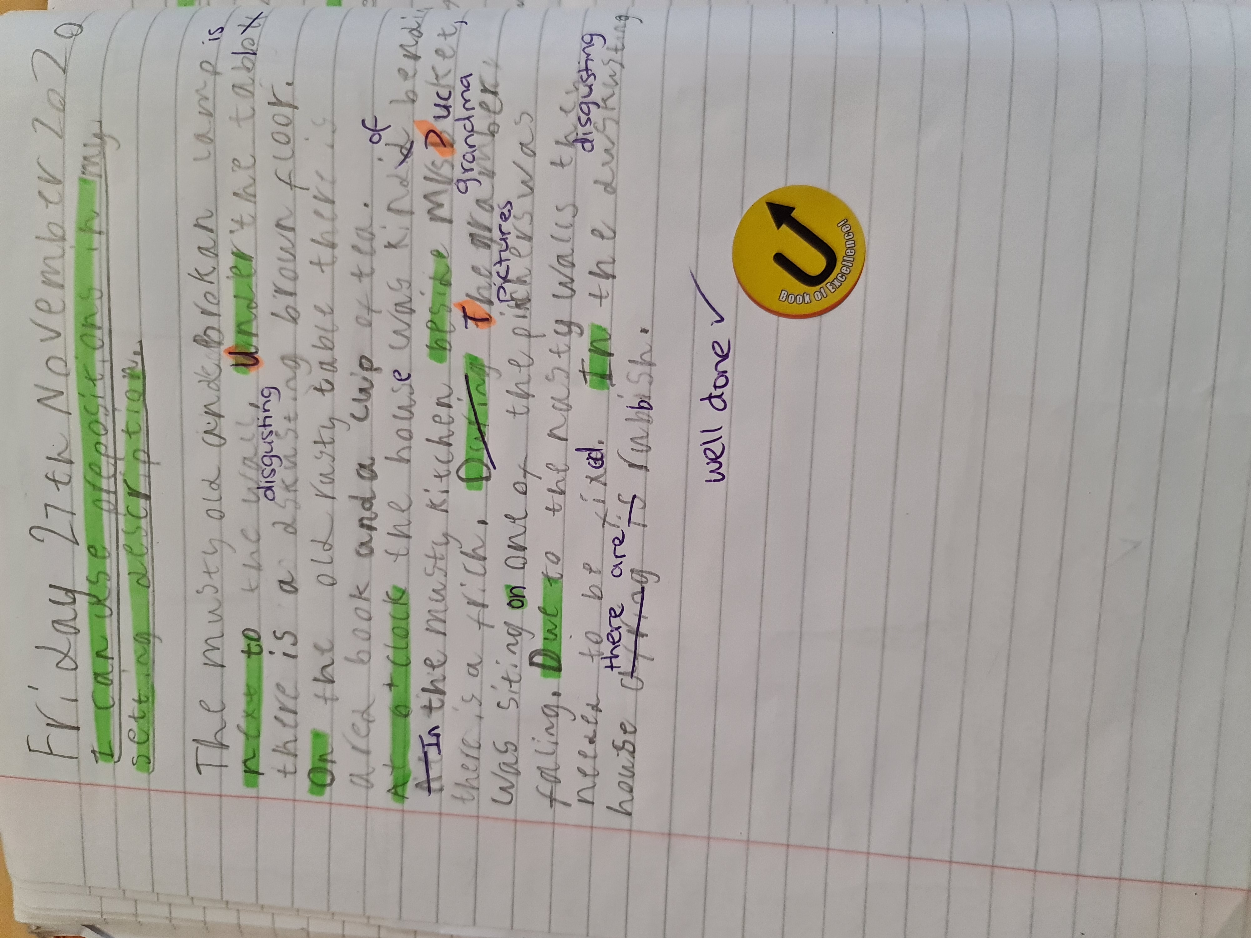 Salim's excellent grammar!