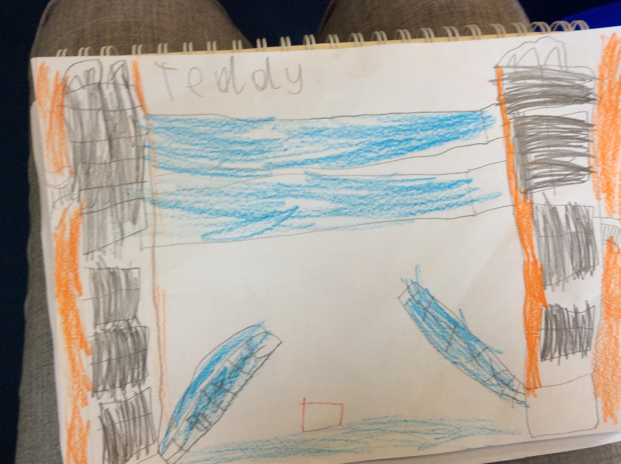 Teddy's brilliant art!