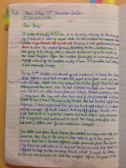Harry's incredible writing!