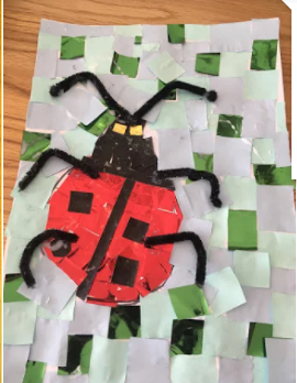 Lewis's superb ladybird!