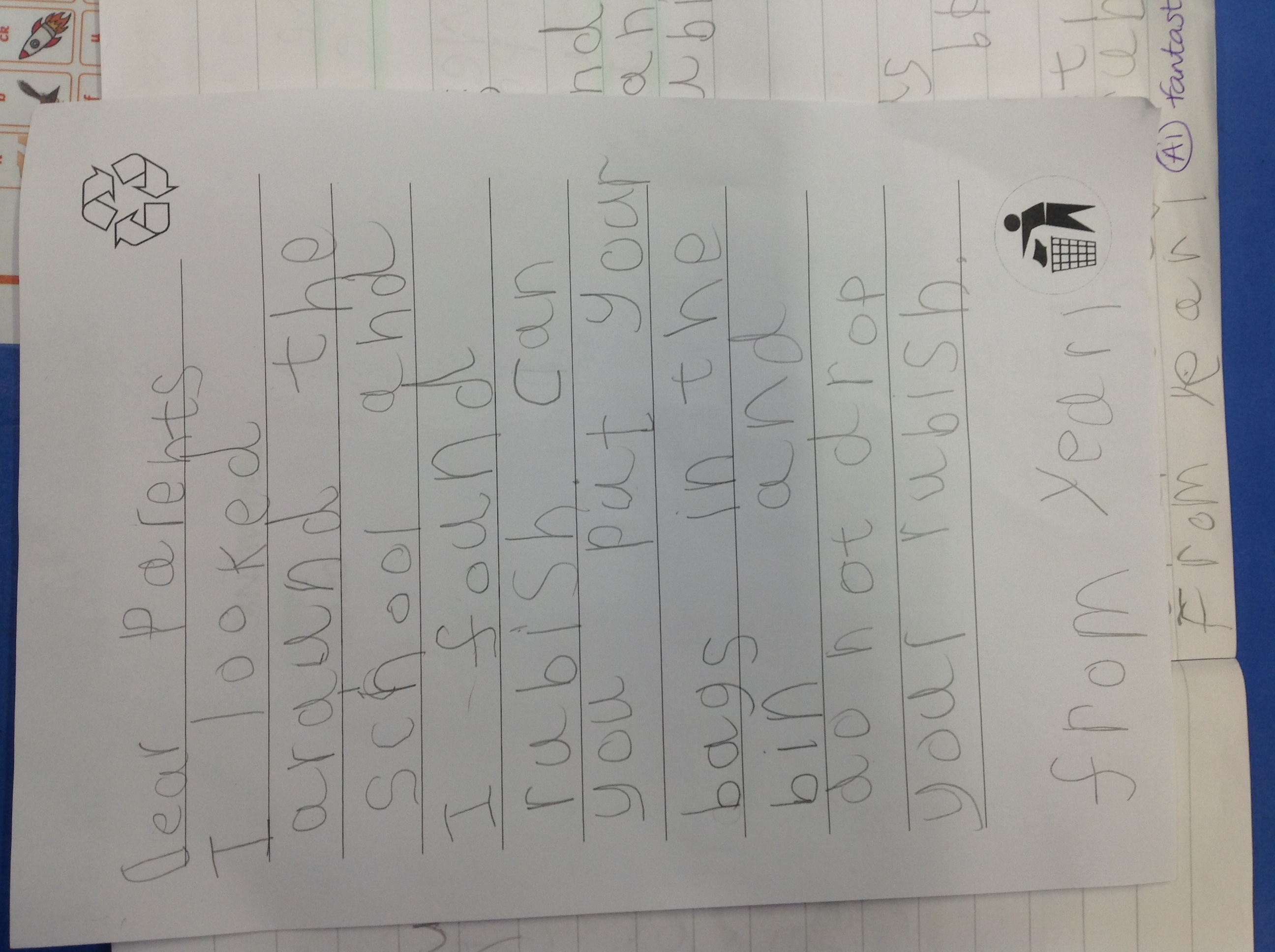 Ianis's fabulous writing!